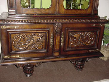 Base to china cabinet